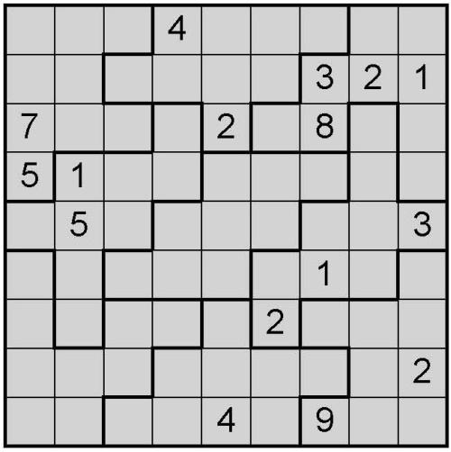 Free Printable Snake Sudoku